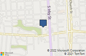 Bing Map of 714 S Coit St Florence, SC 29501