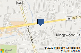 Bing Map of 7183 E Broad St Blacklick, OH 43004