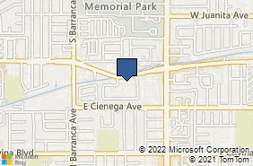 Bing Map of 720 E Arrow Hwy Ste H Covina, CA 91722