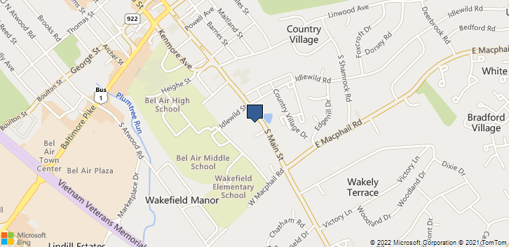 722 S Main St Bel Air, MD, 21014 Map