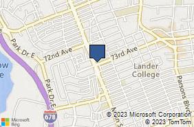 Bing Map of 7273 Main St Kew Gardens Hills, NY 11367