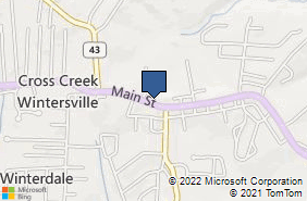Bing Map of 729 Main St Ste 1 Wintersville, OH 43953