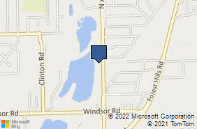 Bing Map of 7310 N Alpine Rd Loves Park, IL 61111