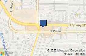 Bing Map of 73101 Highway 111 Ste 1 Palm Desert, CA 92260