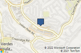 Bing Map of 734 Silver Spur Rd Ste 303 Rolling Hills, CA 90274