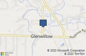 Bing Map of 7359 Austin Powder Dr Solon, OH 44139