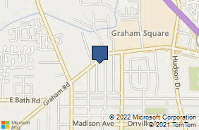 Bing Map of 742 Graham Rd Ste C Cuyahoga Falls, OH 44221