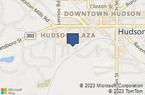 Bing Map of 75 Milford Dr Ste 222 Hudson, OH 44236