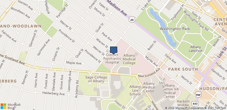 75 New Scotland Ave Albany, NY, 12208 Map