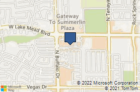 Bing Map of 7501 W Lake Mead Blvd Ste 117 Las Vegas, NV 89128