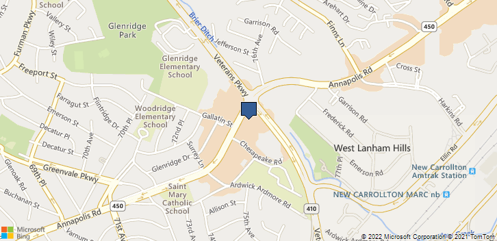 7515 Annapolis Rd Hyattsville, MD, 20784 Map