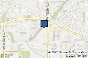 Bing Map of 759 Sw 185th Ave Aloha, OR 97003