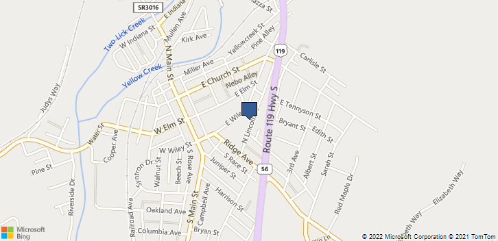77 N Lincoln St Homer City, PA, 15748 Map
