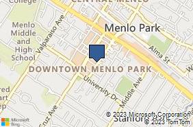 Bing Map of 770 Menlo Ave Ste 223 Menlo Park, CA 94025