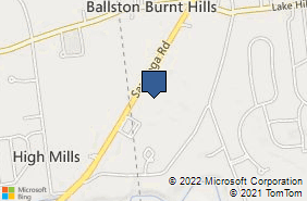 Bing Map of 772 Saratoga Rd Ste 4 Burnt Hills, NY 12027