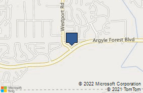 Bing Map of 7855 Argyle Forest Blvd #702 Jacksonville, FL 32244