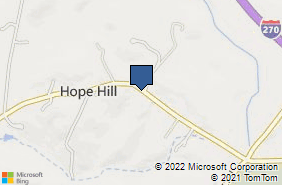Bing Map of 7913 Fingerboard Rd Frederick, MD 21704