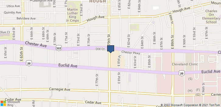7963 Euclid Ave Cleveland, OH, 44103 Map