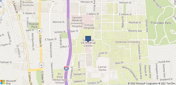 800 Irving Ave Syracuse, NY, 13210 Map
