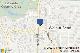 Bing Map of 800 Wilcrest Dr Ste 140 Houston, TX 77042