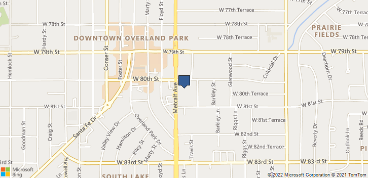 8001 Metcalf Ave Overland Park, KS, 66204 Map