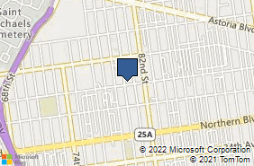 Bing Map of 8003 31st Ave East Elmhurst, NY 11370