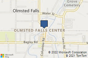 Bing Map of 8020 Columbia Rd Olmsted Falls, OH 44138