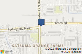 Bing Map of 8020 Fairbanks N Houston Rd Houston, TX 77064