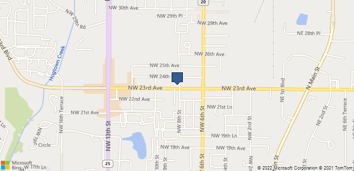 802b Nw 23rd Ave Gainesville, FL, 32609 Map