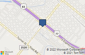 Bing Map of 803 N Sam Houston Blvd San Benito, TX 78586