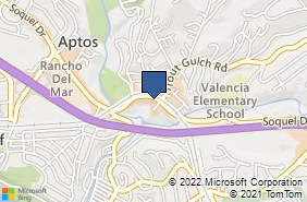 Bing Map of 8046 Soquel Dr Aptos, CA 95003
