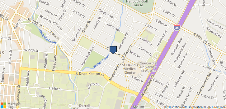 805 E 32nd St Austin, TX, 78705 Map