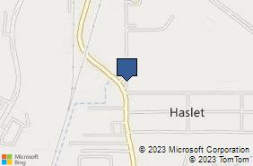 Bing Map of 808 Schoolhouse Rd Ste 101 Haslet, TX 76052