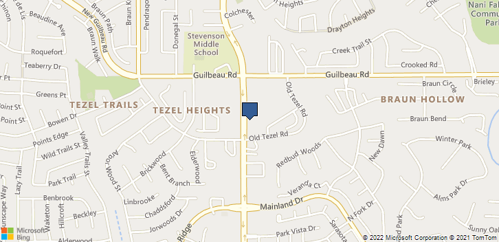 8106 Tezel Rd San Antonio, TX, 78250 Map