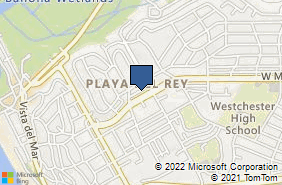 Bing Map of 8121 W Manchester Ave Playa Del Rey, CA 90293