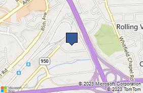 Bing Map of 8200 Professional Pl Ste 114 Landover, MD 20785