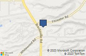 Bing Map of 8223 Brecksville Rd Ste 2 Brecksville, OH 44141