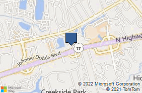 Bing Map of 826 Johnnie Dodds Blvd Mount Pleasant, SC 29464