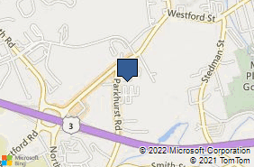 Bing Map of 83 Parkhurst Rd Unit 10 Chelmsford, MA 01824