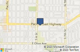 Bing Map of 830 E Ocean Ave Lompoc, CA 93436