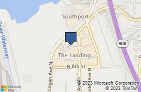 Bing Map of 830 N 10th St Renton, WA 98057