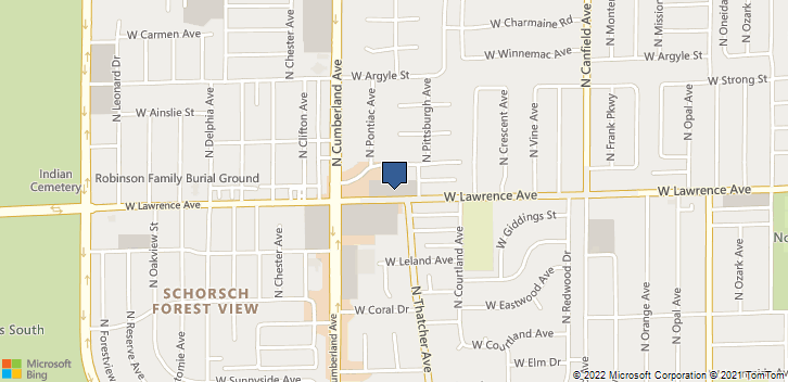 8300 W Lawrence Ave Norridge, IL, 60706 Map