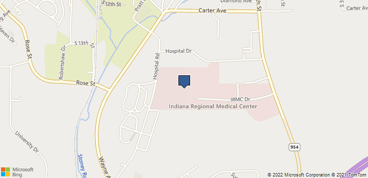 835 Hospital Rd Indiana, PA, 15701 Map
