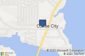 Bing Map of 8351 Fm 3506 Frankston, TX 75763