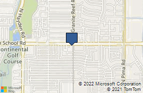 Bing Map of 8399 E Indian Schl Rd Ste 103 Scottsdale, AZ 85251