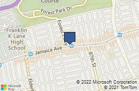 Bing Map of 8415 Jamaica Ave Woodhaven, NY 11421