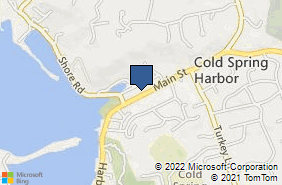 Bing Map of 85 Main St Cold Spring Harbor, NY 11724