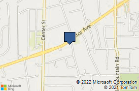 Bing Map of 8518 Mentor Ave Mentor, OH 44060