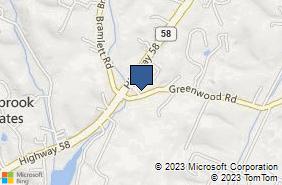 Bing Map of 8618 Highway 58 Ste 104 Harrison, TN 37341