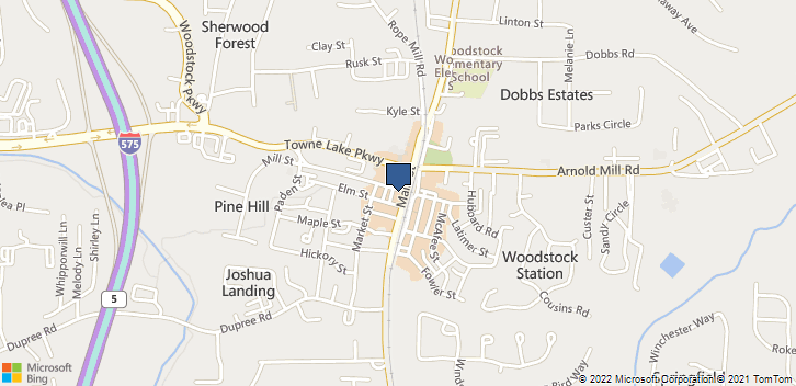 8632 Main St Ste 160 Woodstock, GA, 30188 Map